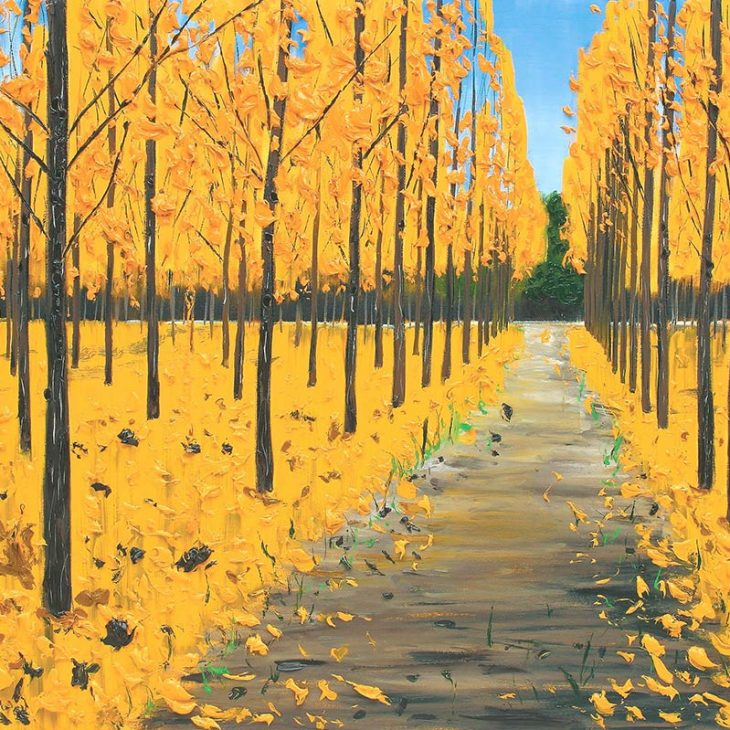 (Paintings)-Autumn-trees---oil-on-canvas---1020-x-1525-mm-SOLD