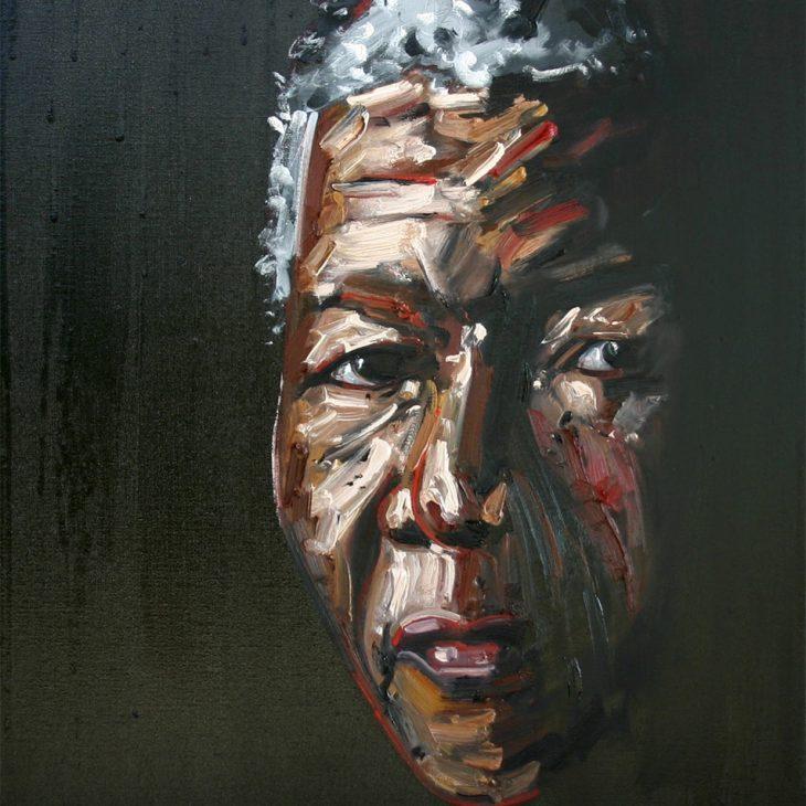 (Portraits)-Nelson-Mandela---oil-on-linen-800-x-640-mm